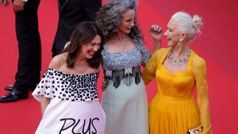 Otwarcie 74. Festiwalu w Cannes. Pokaz filmu i rewia mody