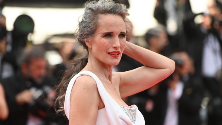 Siwa Andie MacDowell walczy z ageizmem podczas Festiwalu w Cannes