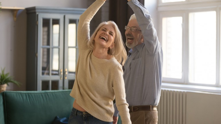 Taniec dla seniorów – ciesz się chwilą